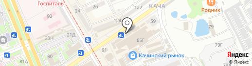 Шелковый путь на карте Волгограда
