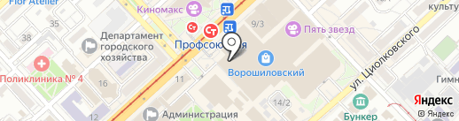 Pull & Bear на карте Волгограда
