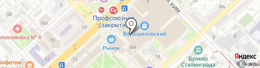 Nike на карте Волгограда