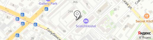 Ундина на карте Волгограда