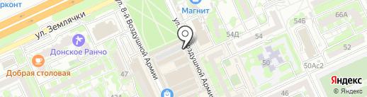 МясниковЪ на карте Волгограда
