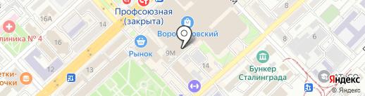 Truvor на карте Волгограда