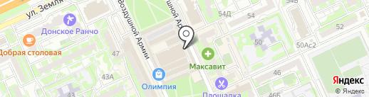 Магазин медиапродукции на карте Волгограда