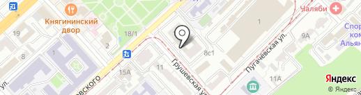 Дельта капитал на карте Волгограда
