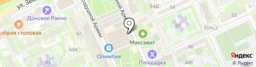 Магазин бытовой химии на карте Волгограда