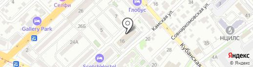 Волгоградская коллегия адвокатов №1 на карте Волгограда