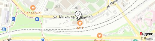 Зетта Страхование на карте Волгограда