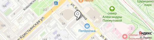 Союз Автоснаб на карте Волгограда