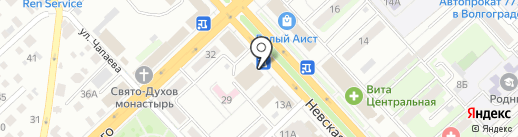 Волга ТЭК на карте Волгограда