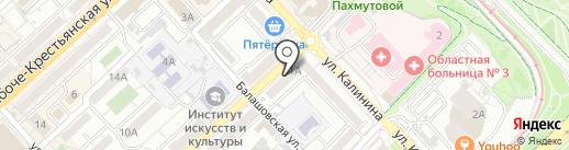 KANAS на карте Волгограда