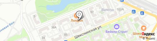 КЛ & Д вилль на карте Волгограда