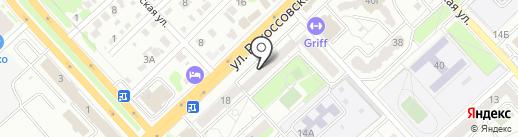 Волгоградский инженерный центр, МУ на карте Волгограда