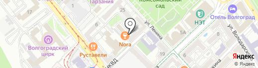 ЛОФТ1890 на карте Волгограда