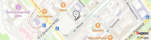 Содружество анонимных алкоголиков на карте Волгограда