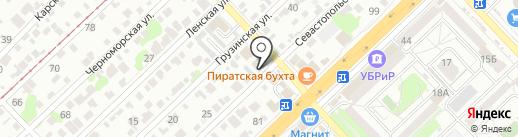 Электро-Профи на карте Волгограда