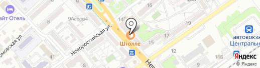 Чип и Дип на карте Волгограда