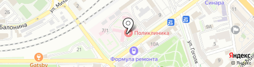 РЖД на карте Волгограда