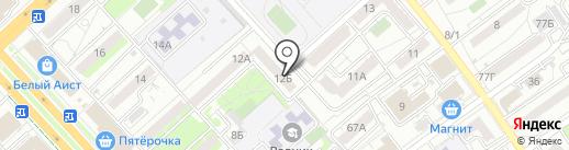 Технострой на карте Волгограда
