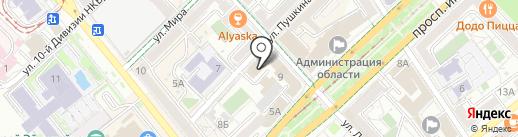 Baron Bar на карте Волгограда