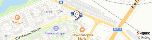 Владимирская Фабрика Дверей на карте Волгограда