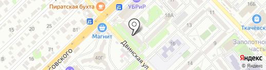 Элегант на карте Волгограда