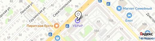 Империя Окон на карте Волгограда