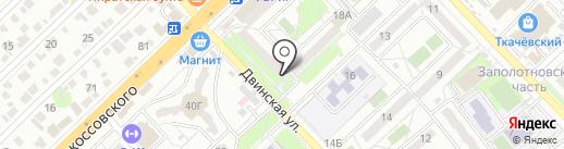Пивная Лавъка на карте Волгограда