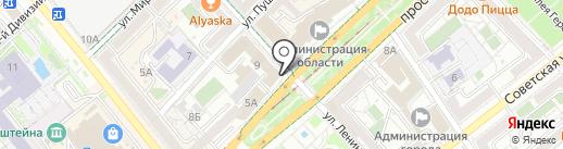 Союз директоров предприятий Волгоградской области на карте Волгограда