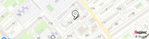 Оптово-розничная компания на карте Волгограда