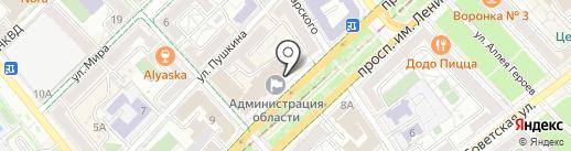 Комитет по ЖКХ, жилищной политике и строительству на карте Волгограда
