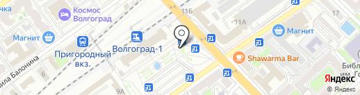 Платный общественный туалет на карте Волгограда