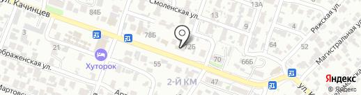 ЗигЗаг на карте Волгограда
