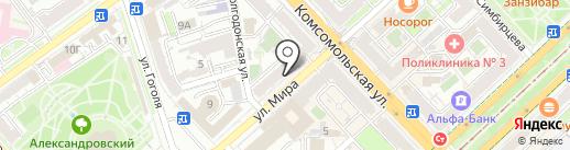 Forse мажор на карте Волгограда