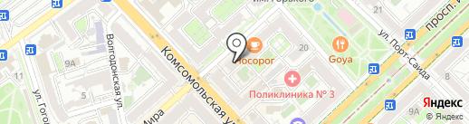 Фотостудия на карте Волгограда