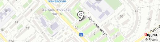 Швейное кафе на карте Волгограда