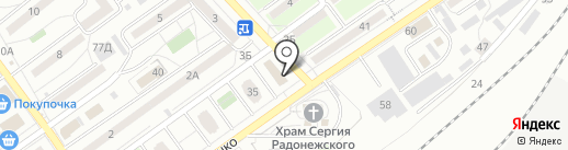 Лав Гриль на карте Волгограда