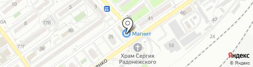 Содействие на карте Волгограда
