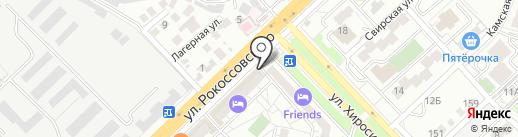 Воротные системы на карте Волгограда