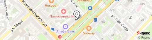 Кардамонъ на карте Волгограда