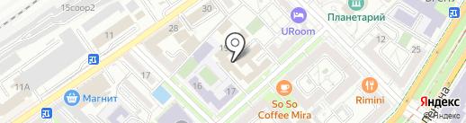 Юридическое сопровождение бизнеса на карте Волгограда