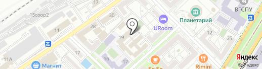 Аргумент на карте Волгограда