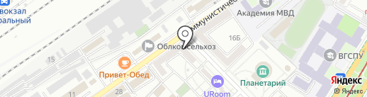 Оконный Сервис на карте Волгограда