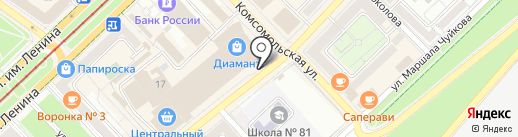 Школа ВидеоБлоггеров на карте Волгограда