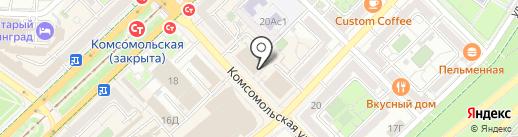 Buton на карте Волгограда