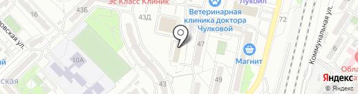 ВолгоДонГаз на карте Волгограда