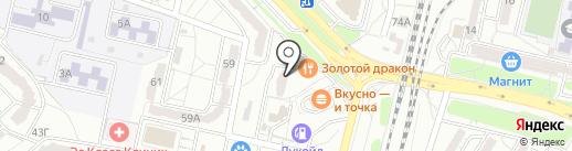 Точка на карте Волгограда