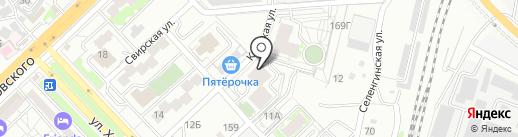 Albero на карте Волгограда