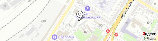 Межрайонная коллегия адвокатов г. Волгограда на карте Волгограда