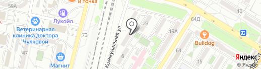 Служба заказа микроавтобусов на карте Волгограда