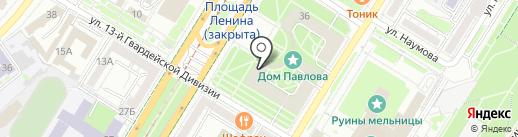 Danko на карте Волгограда